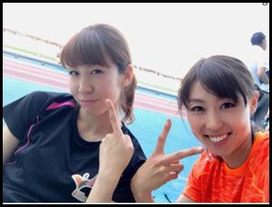 今井と市川選手