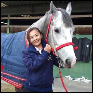 華原朋美の馬